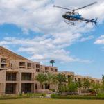 В Омане впервые предлагаются трансферы на вертолетах