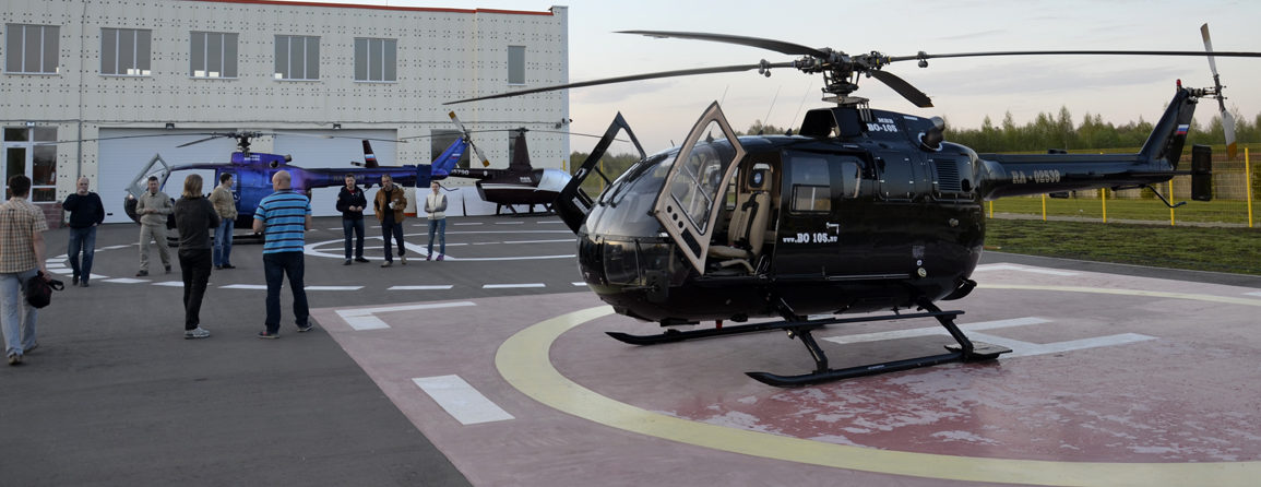 Полеты на вертолете в Брянске